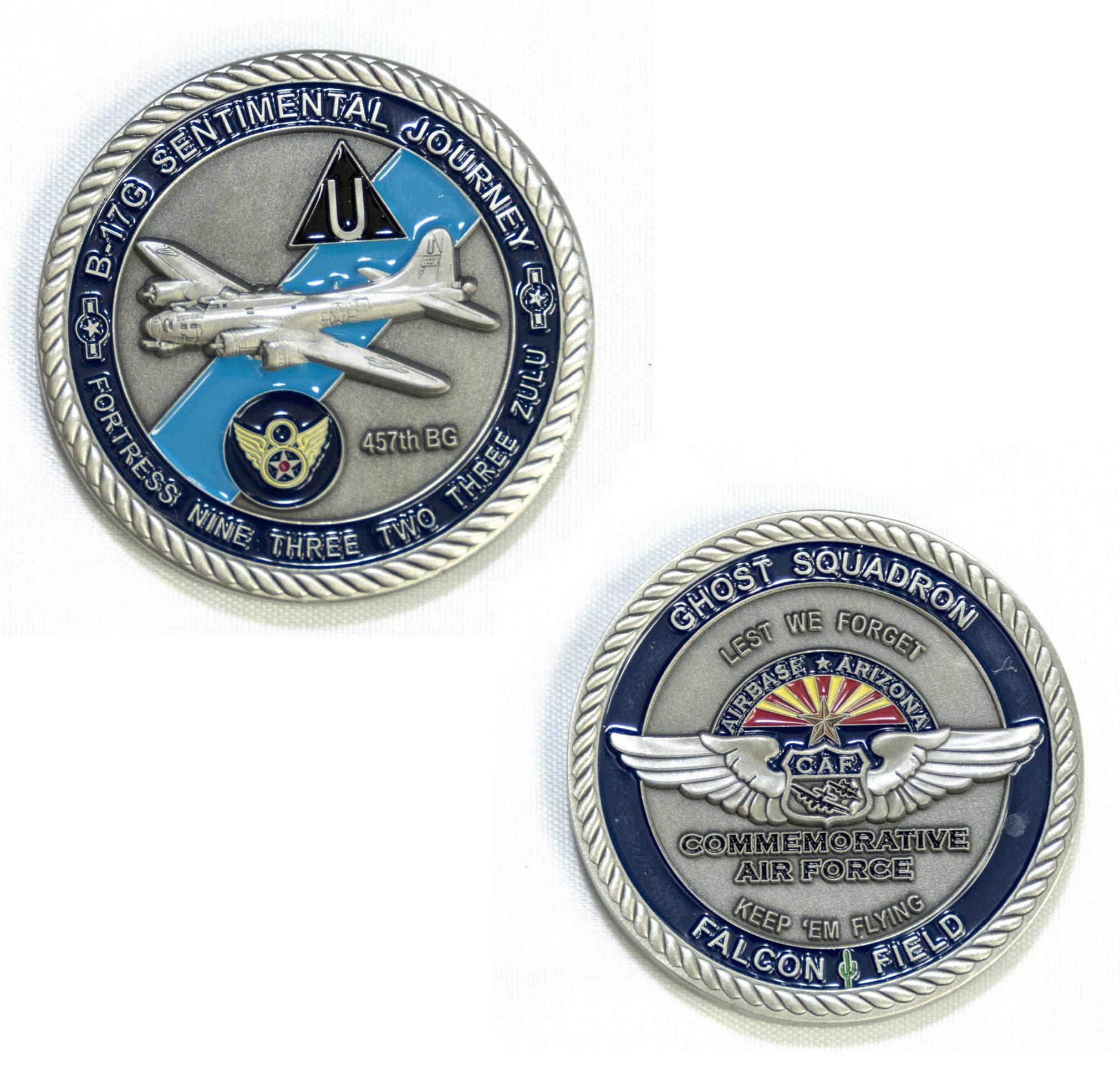 Challenge Coins - B-17 and B-25